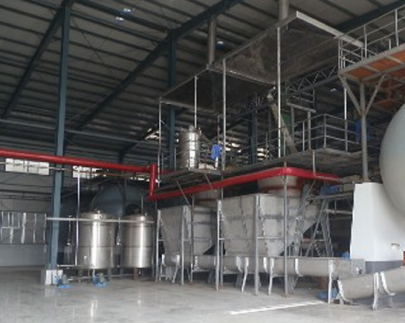 淀粉渣酒精生产设备