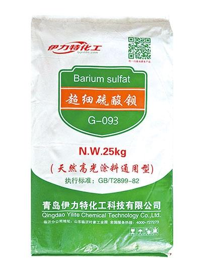 超细硫酸钡G-093